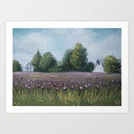 Indiana 61/100 Art Print