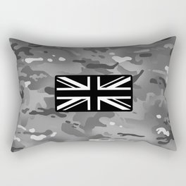 British Flag: Urban Camouflage Rectangular Pillow
