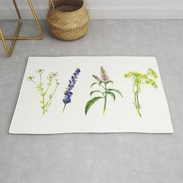 Tea Flowers Rug
