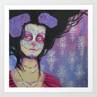 baroque Art Prints featuring Baroque by Megan Ellis