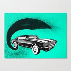 Mustang Car Canvas Print