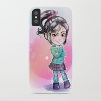 wreck it ralph iPhone & iPod Cases featuring Vanellope - Wreck-it Ralph by Claire
