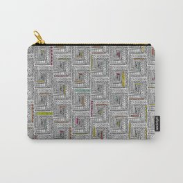 Log Cabin Pattern Carry-All Pouch