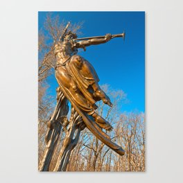 Golden Spirit of Louisiana Canvas Print