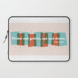 Strikes and Gutters Laptop Sleeve