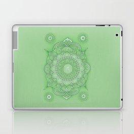 mandala Chakra Anahata Laptop & iPad Skin