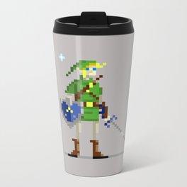 Pixel Link Metal Travel Mug