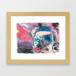 Chouchou 8 Framed Art Print