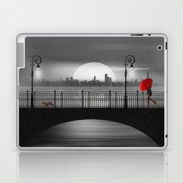 The bridge in the summer rain Laptop & iPad Skin