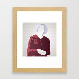 Nolite Te Bastardes Carborundorum Offred Framed Art Print