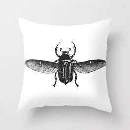 Bug 2 Throw Pillow