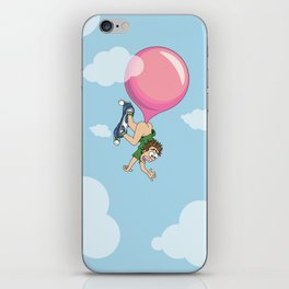 Don't Swallow Your Bubble Gum iPhone Skin