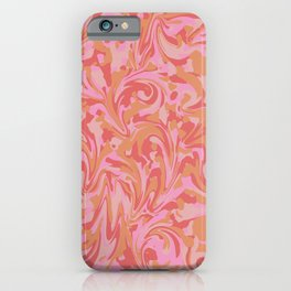 Liquify Pink iPhone Case