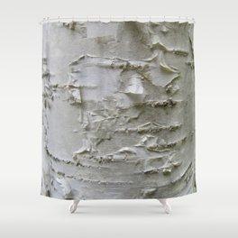 Birch Bark Shower Curtain