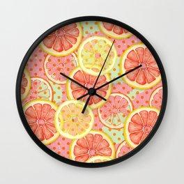 Fresh & Fruity Wall Clock