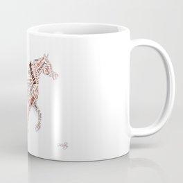 Arabian Horse Words Coffee Mug