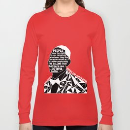 Jairon Brown - Black Lives Matter - Series - Black Voices Long Sleeve T-shirt