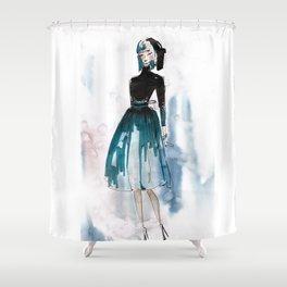 Fi Shower Curtain