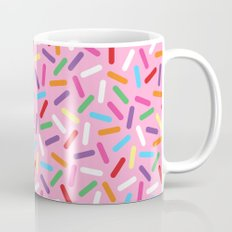 Pink Donut with Sprinkles Mug