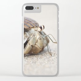 Life & times of a Hermit Crab Clear iPhone Case