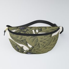 Deadly Nightshade Fanny Pack