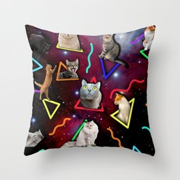 THEY RULE THE UNIVERSE Throw Pillow