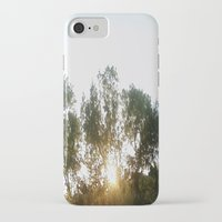 chill iPhone & iPod Cases featuring Chill by stefani187
