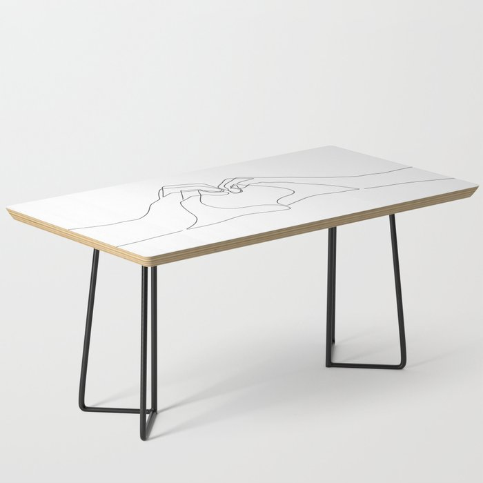 Hand Heart Coffee Table