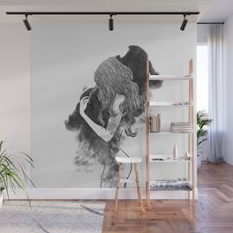 The gates of darkness. Wall Mural