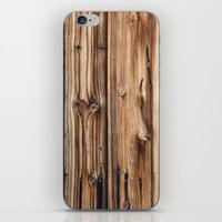 wood iPhone & iPod Skins featuring Wood by Patterns and Textures