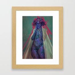 Deep Water Framed Art Print