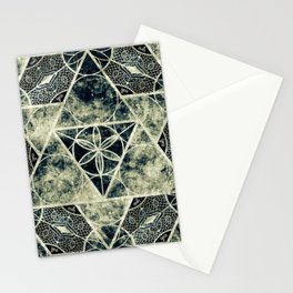 Sacred Geometry for your daily life -  Platonic Solids - IGNIS Stationery Cards