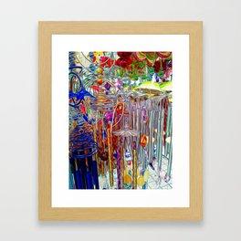 Artsy Wind Chimes #3 Framed Art Print