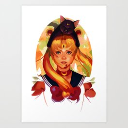 For Love and Justice Art Print