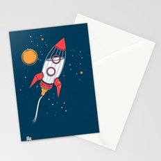 Bottle Rocket to the Milky Way Stationery Cards