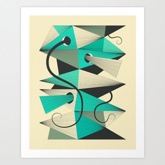 Interzone (3) Art Print
