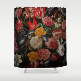 Vintage & Shabby Chic - Dutch Midnight Garden I Shower Curtain