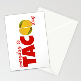 Taco Day Stationery Cards