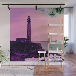 Golden Hours / Lighthouse Barlovento La Palma Wall Mural