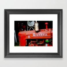 Farmall Framed Art Print