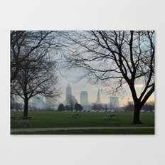 Good Morning, Cleveland Canvas Print