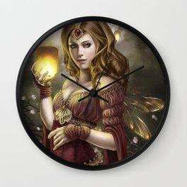 Floating Lights Wall Clock