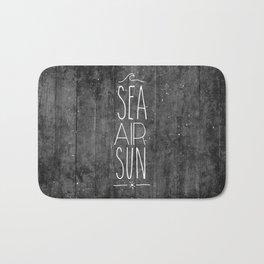 Sea, Air & Sun Bath Mat