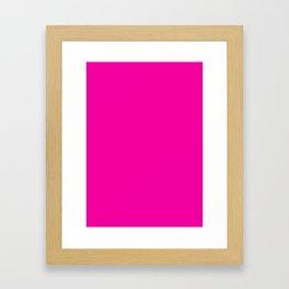 Fashion fuchsia Framed Art Print