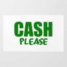 cash please Rug