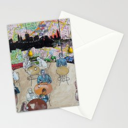 Coffee Shop NYC Stationery Cards
