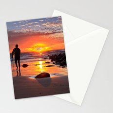 Evening Sunset Surfing Stationery Cards
