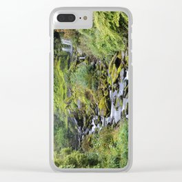 Water Falls Clear iPhone Case