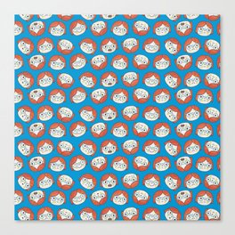 Pattern Project #13 / Mood Swings Canvas Print