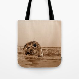 The SEAL - sepia 17 Tote Bag